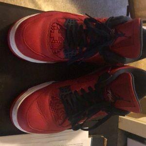 Jordan Red 4's